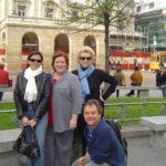 Production team at La Scala