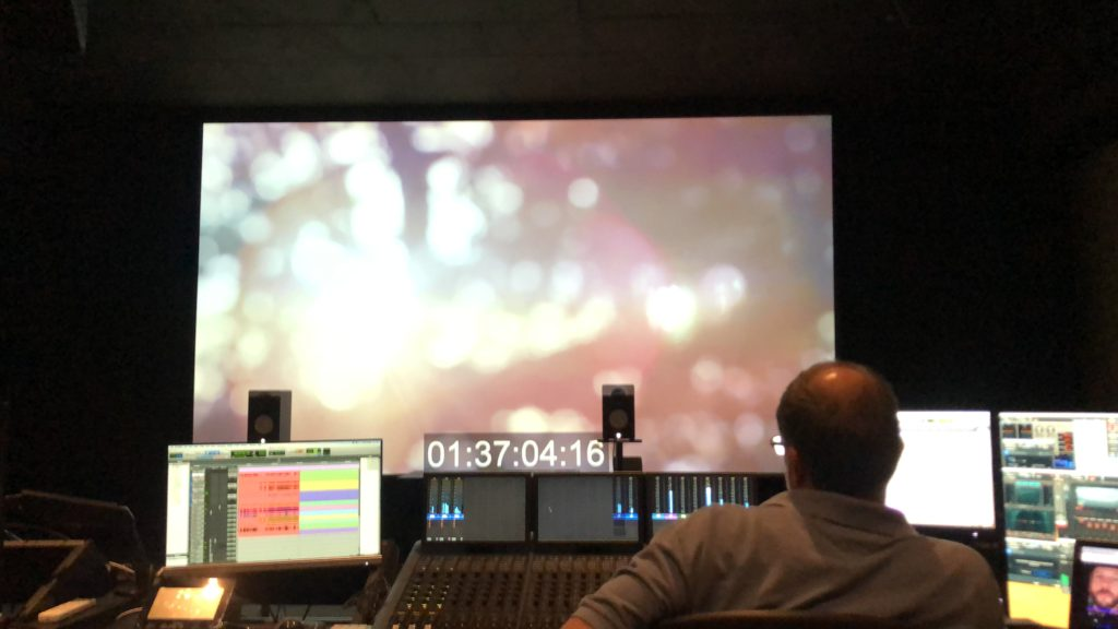 """Sound Designer Scott Weber and the final pass of """"Sext"""" for Praying the Hours"""