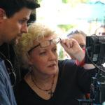 DP Brandon LIppard, Director Lauralee Farrer and Producer Tamara McMahon