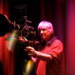 DP Martina Nagel on the set of Compline