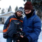 Producer Matt Webb and DP Jordan McMahon