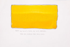Artist Lori Fox imagines the Hour of Sext in watercolor