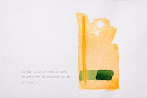 Artist Lori Fox imagines the Hour of Terce in watercolor